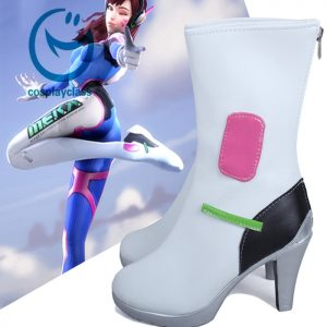 Overwatch OW D.Va DVa Hana Song Cosplay Shoes