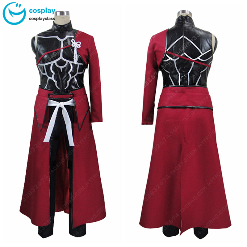 Fate//Stay Night Unlimited Blade Works Red Emiya Archer COSplay Costume Suit