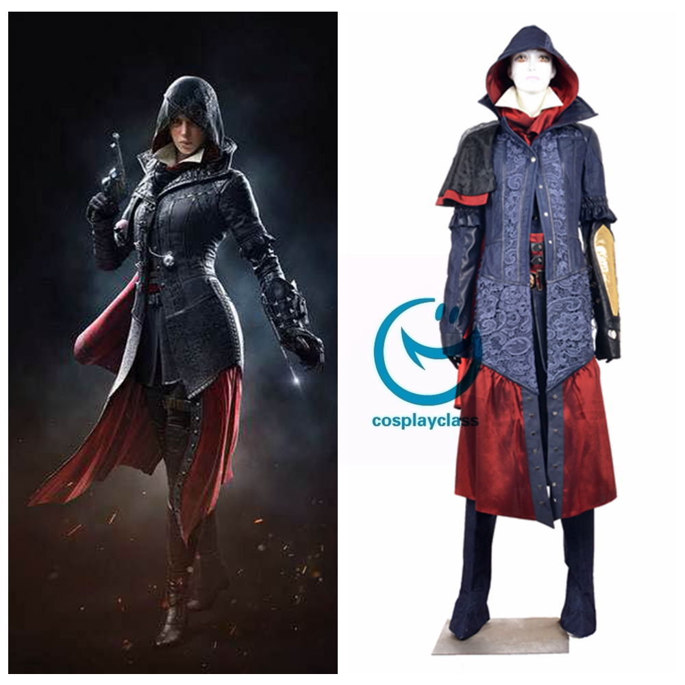 Assassin S Creed Syndicate Evie Frye Cosplay Costume Cosplayclass