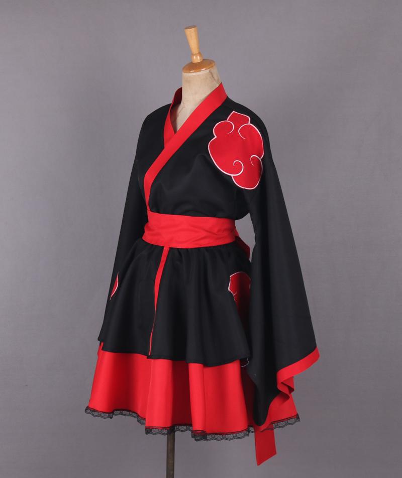 Naruto Shippuden Akatsuki Organization Female Lolita ...