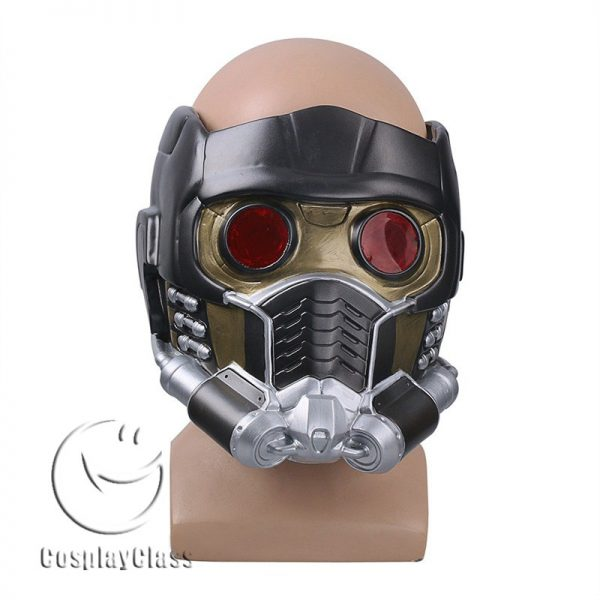 Marvel Comics Guardians of the Galaxy Star Lord Helmet Cosplay Accessories Prop