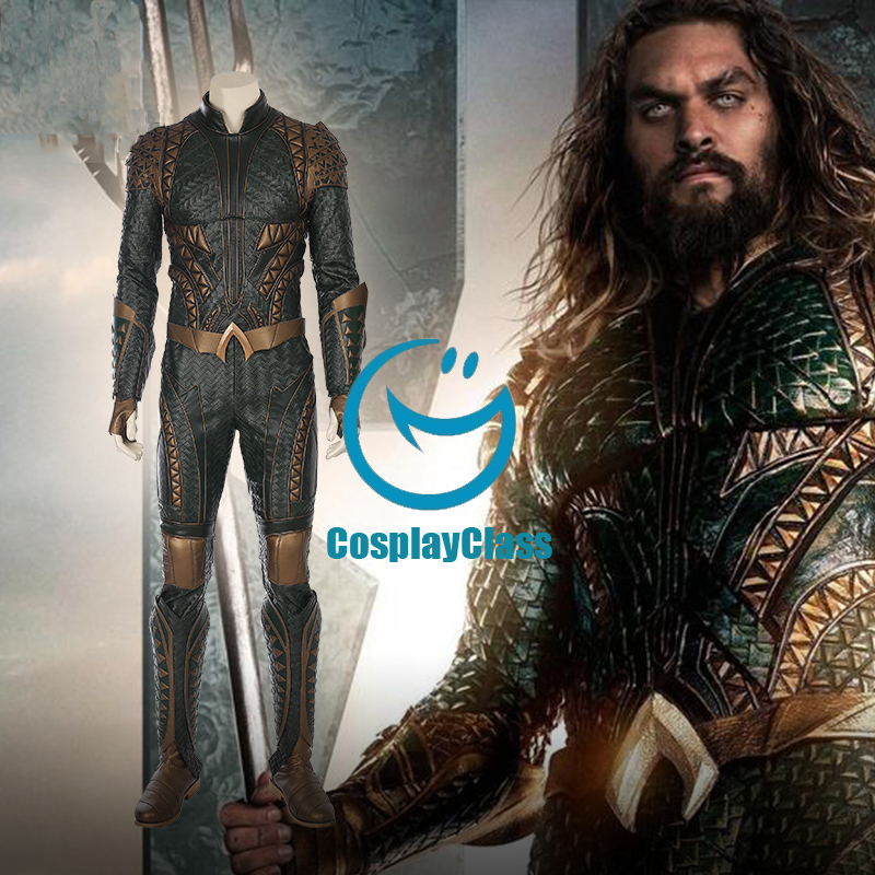 Dc Comics Justice League Aquaman Cosplay Costume Cosplayclass