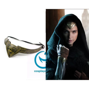 cw11341 DC Comics Batman v Superman: Dawn of Justice Diana Prince Wonder Woman Headdress Cosplay Accessories Prop