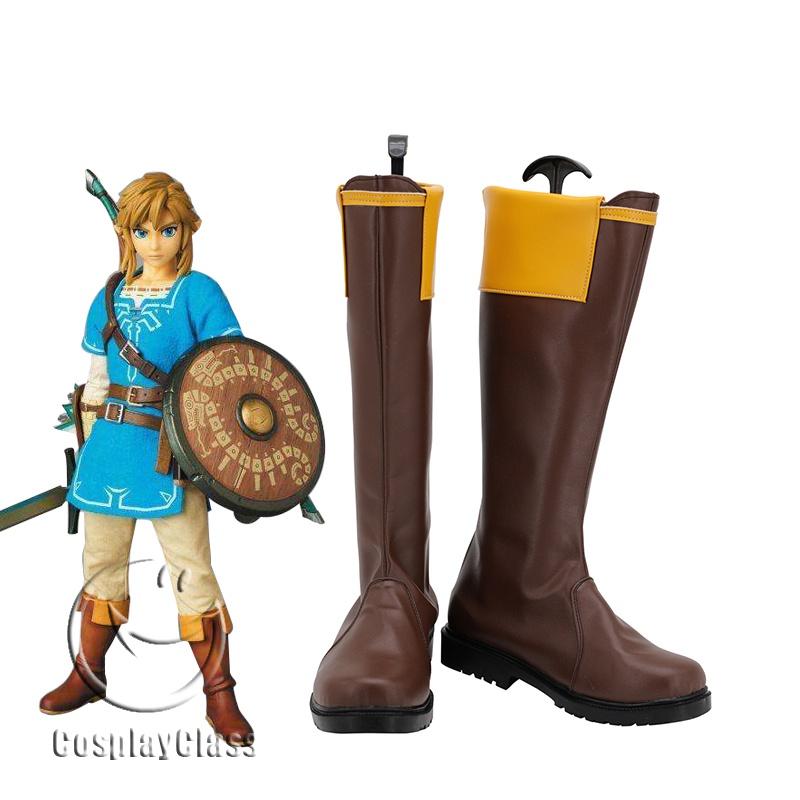 Details about  /The Legend of Zelda Link Shoes Cosplay Men Boots