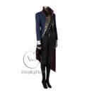 cos11270 Dishonored 2 Emily Drexel Lela Kaldwin Veil Cosplay Costume (4)