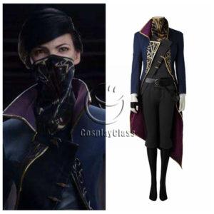 cos11270 Dishonored 2 Emily Drexel Lela Kaldwin Veil Cosplay Costume (5)