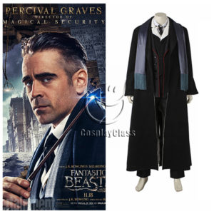 cos11271 Fantastic Beasts and Where to Find Them Percival Graves Cosplay Costume (1)