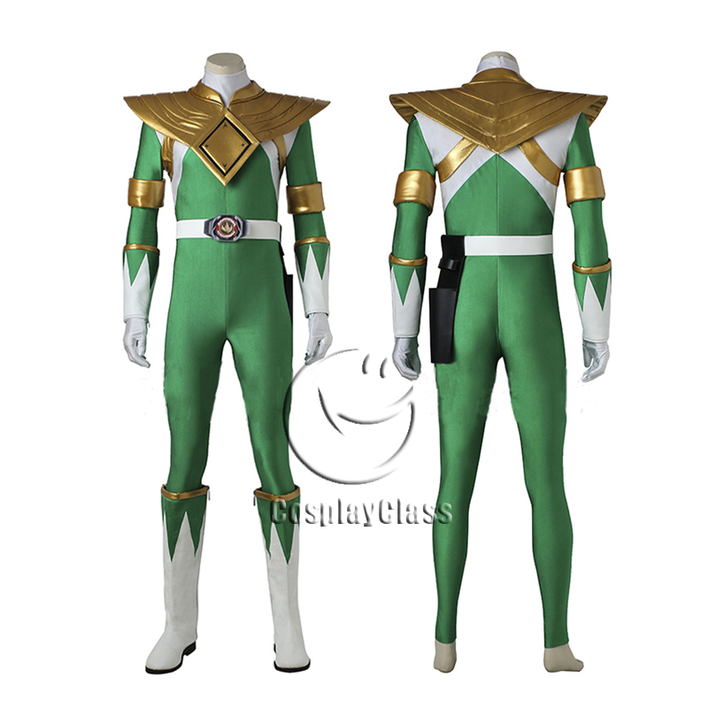 Mighty Morphin Power Rangers Dragon Ranger Burai Cosplay Costume