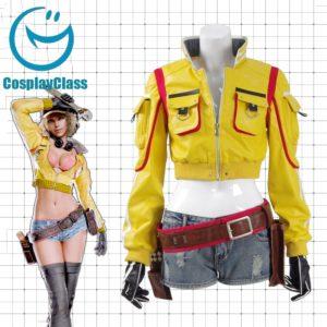 cos11296 Final Fantasy XV FF15 Cindy Aurum FFXV Cosplay Costume (1)