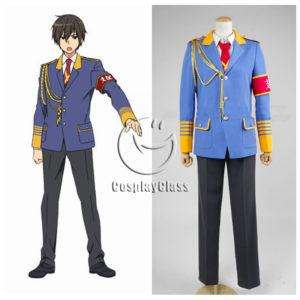 cos11300 Amagi Brilliant Park Kanie Seiya Cosplay Costume (1)
