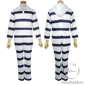 cos11327 (3) Prison School Fujino kiyoshi/Nedu joji/Morokuzu takehito Cosplay Costume