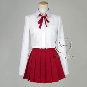 cos11328 Himouto! Umaru-chan Doma Umaru U·M·R Cosplay Costume (1)