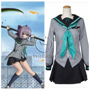 cos11330 Seraph of the end Hiiragi Shinoa School Uniforms Cosplay Costume (1)
