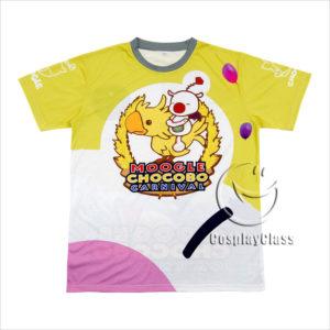 cos11331 Final Fantasy XV FF15 FFXV MOGLI Chocobo Carnival T-shirt Cosplay Costume (1)