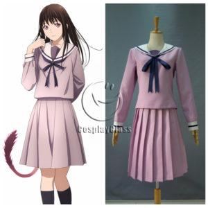 cos11337 Noragami Iki Hiyori Cosplay Costume (1)