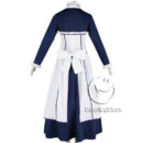 cos11350 Black Butler Kuroshitsuji Emma Maid Dress Cosplay Costume (3)