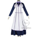 cos11350 Black Butler Kuroshitsuji Emma Maid Dress Cosplay Costume (4)