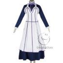 cos11350 Black Butler Kuroshitsuji Emma Maid Dress Cosplay Costume (4)