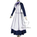 cos11350 Black Butler Kuroshitsuji Emma Maid Dress Cosplay Costume (5)
