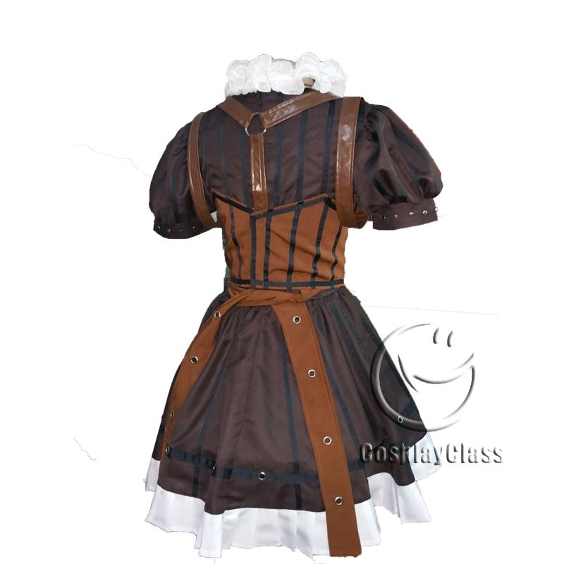 c475b0e74156d Alice: Madness Returns Steampunk Alice Cosplay Costume