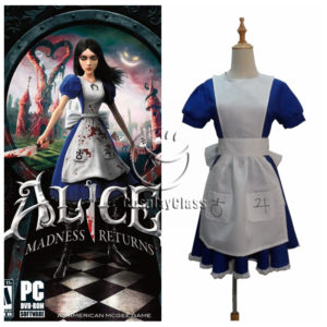 cos11353 Alice Madness Returns Alice Dress Cosplay Costume (1)