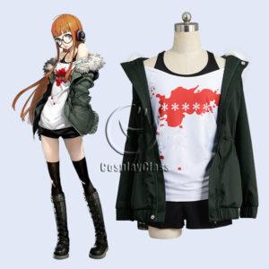 cos11354 Persona 5 P5 Futaba Sakura Cosplay Costume