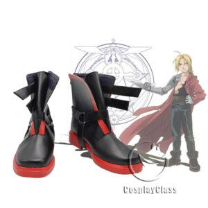 cw11466 Fullmetal Alchemist Edward Elric Cosplay Shoes