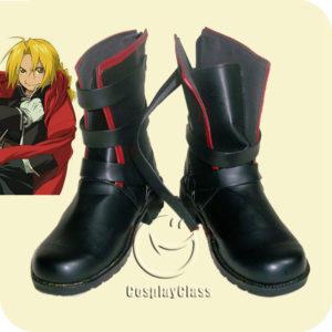 cw11469 Fullmetal Alchemist Edward Elric Fullmetal Alchemist Cosplay Shoes (1)
