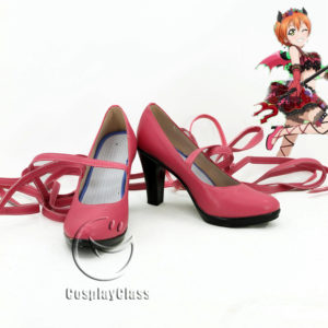 cw11516 LoveLive! Awakening Hoshizora Rin Cosplay Shoes (1)