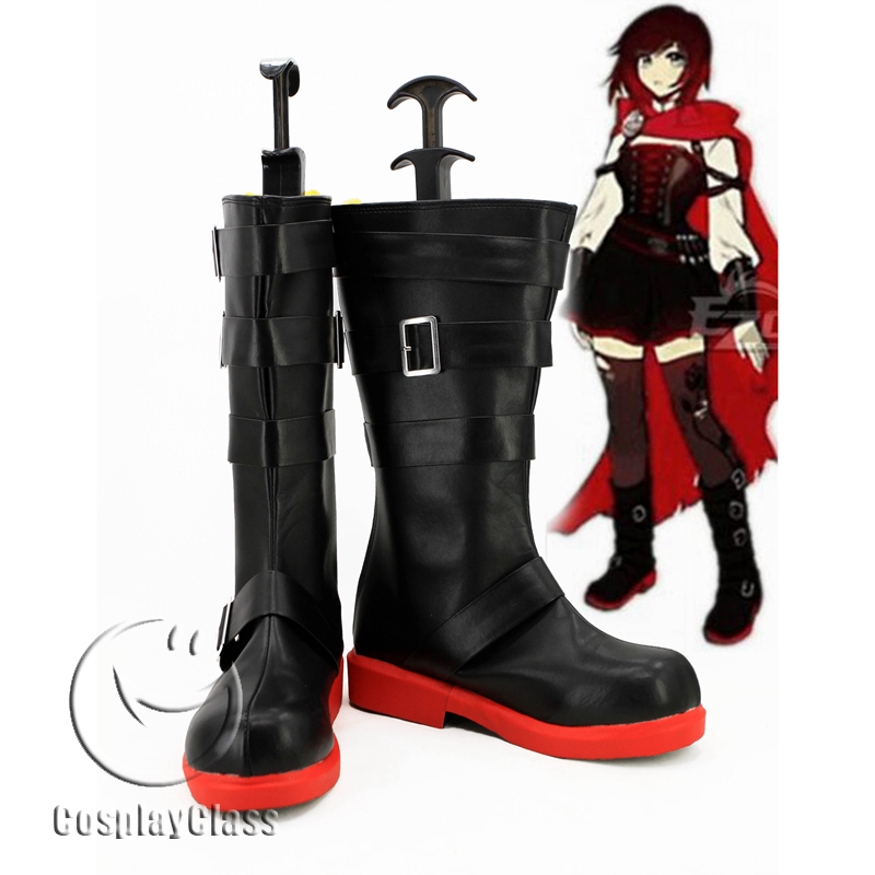 RWBY Season 4 Ruby Rose Cosplay Boots