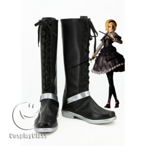 cw11533 TouHou Project Ends of Fantasy Alice Cosplay Boots (1)
