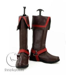 cw11551 D.Gray-man Allen Walker Cosplay Boots (2)