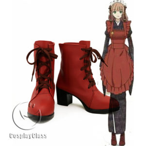 cw11554 AMNESIA Female Protagonist Cosplay Shoes (1)