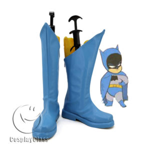 cw11565 Batman Blue Cosplay Boots (1)
