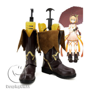 cw11566 Tales of Zestiria Edna Cosplay Boots (1)