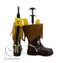 cw11566 Tales of Zestiria Edna Cosplay Boots (3)