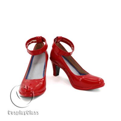 cw11574 LoveLive! Nico Halloween Cosplay Shoes (2)