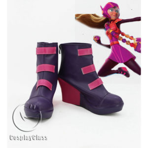 cw11588 Big Hero 6 Honey Lemon Cosplay Shoes (1)