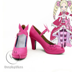 cw11592 Re Life in a different world from zero Beatrice Cosplay Shoes (1)