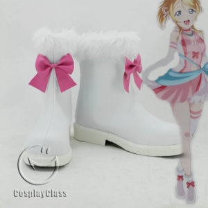 cw11615 LoveLive! Eli Ayase Ellie Cosplay Shoes