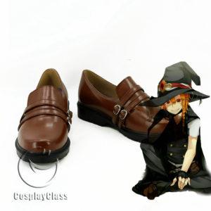 cw11636 TouHou Project Kirisame Marisa Cosplay Shoes (1)
