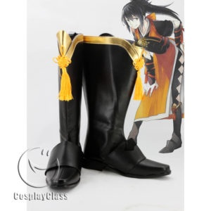 cw11641 Fire Emblem Oboro Cosplay Boots (1)