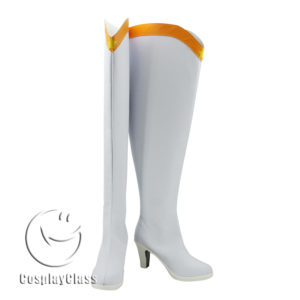 cw11651 Sailor Moon Minako Aino Sailor Venus Cosplay Boots (1)