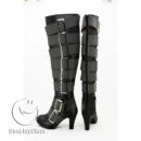cw11684 Black Butler Under Taker Cosplay Boots (3)