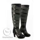 cw11684 Black Butler Under Taker Cosplay Boots (4)