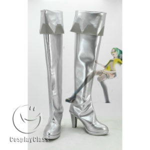 cw11697B Who I Want 2 B feat. Hatsune Miku Cosplay Boots (1)