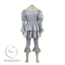 cos11359 Stephen King's It 2017 Movie Clown Cosplay Costume(Include shoes) (10)