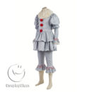 cos11359 Stephen King's It 2017 Movie Clown Cosplay Costume(Include shoes) (5)