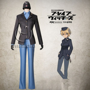 cos11366 Brave Witches Warutrud Krupinski Cosplay Costume (1)