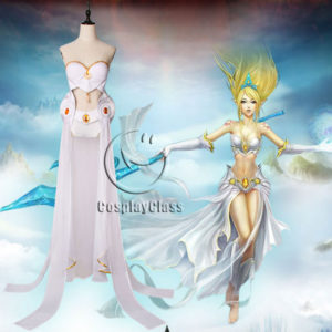cos11367 League of Legends LOL Janna Cosplay Costume (1)